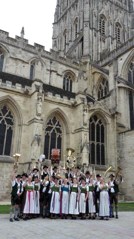 Jugendkapelle Niklasreuth Kathedrale Gloucester